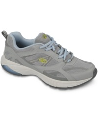 Dr. Scholl's Curry Sneakers Women's Shoes Grey Green Nubuck