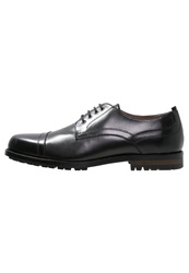 Peter Werth Hardy Smart Laceups Black
