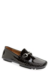 Men's Robert Zur 'Perry' Patent Leather Driving Shoe