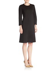 Anne Klein Solid Shift Dress Black