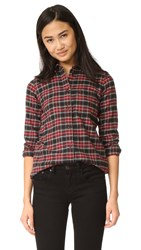 Madewell Slim Boyshirt True Black