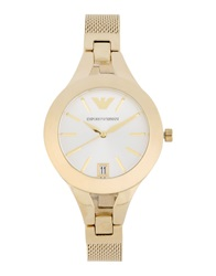 Emporio Armani Wrist Watches Gold
