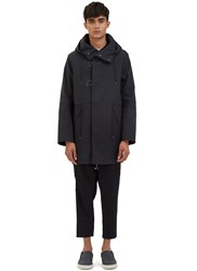 Oamc Hook Parka Jacket Black