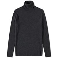 Polo Ralph Lauren Merino Roll Neck Knit Grey