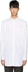 3.1 Phillip Lim White Poplin Tunic