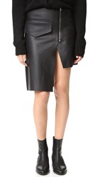 Oak Moto Skirt Black