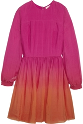Matthew Williamson Da Grada Silk Voile Mini Dress