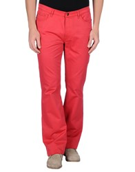 Just Cavalli Trousers Casual Trousers Men Red