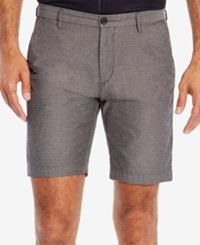 Hugo Boss Men's Slim Fit Textured Stretch Shorts Mediumgrey