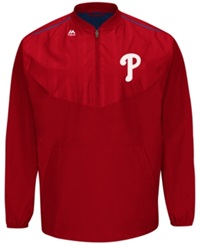 Majestic Men's Philadelphia Phillies Training Jacket