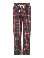 Howick Check Nightwear Trousers Grey