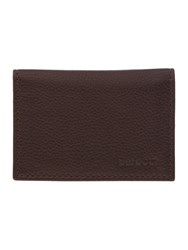 Barbour Foldover Cardholder Brown