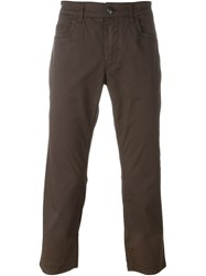 Fay Classic Chinos Brown