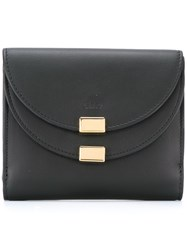 Chloe 'Georgia' Square Wallet Black