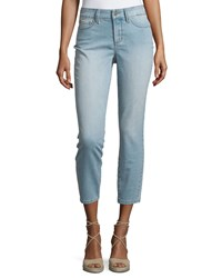 Nydj Angie Ankle Denim Jeans Burley Wash
