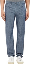 Vince. 212 Slim Chambray Jeans Colorless