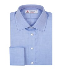 Turnbull And Asser Herringbone Shirt Male