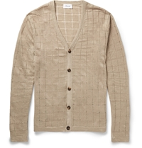 Faconnable Linen Cardigan Neutrals
