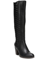 Fergalicious Cally Tall Boots Women's Shoes Black