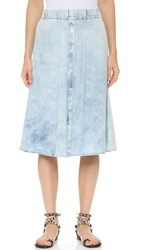 Cheap Monday Scaler Skirt Detonation Blue