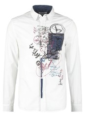 Desigual Regular Fit Shirt Blanco White