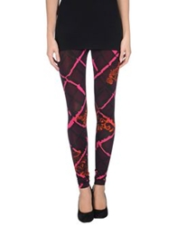 Pinko Leggings Deep Purple