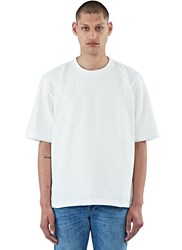 Marni Short Sleeved Thick Terry T Shirt White