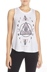 Women's Spiritual Gangster 'Diamond Eye' Jersey Tank