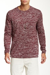Quiksilver Crooked Knit Pullover Blue