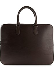 Mulberry 'Tony' Laptop Briefcase Brown