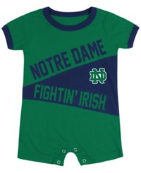 Colosseum Babies' Notre Dame Fighting Irish Romper