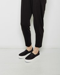 Opening Ceremony Slip On Platform Sneaker Black
