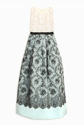 Andrew Gn Sleeveless Lace Gown Multi