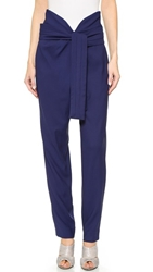 Jay Ahr High Waisted Pants Blue