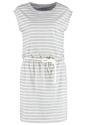 Twintip Jersey Dress Grey Melange White Mottled Grey