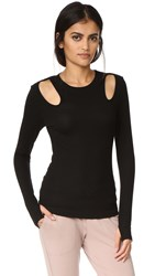 Splits59 Alexis Long Sleeve Tee Black