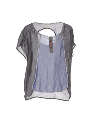 Numph Numph Shirts Blouses Women Grey