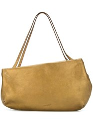 Marsell Asymmetric Shoulder Bag Metallic