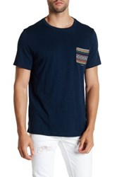 Threads For Thought Baja Embroidered Pocket Tee