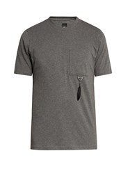 Oamc Feather Charm T Shirt Dark Grey