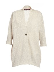 Betty Barclay Textured Oversized Cardigan Cream
