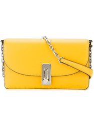 Marc Jacobs 'West End' Wallet Crossbody Bag Yellow And Orange