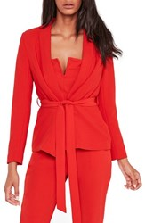 Missguided Women's Belted Blazer