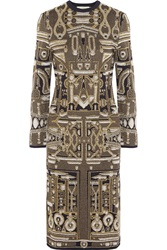 Mary Katrantzou Metallic Jacquard Knit Dress