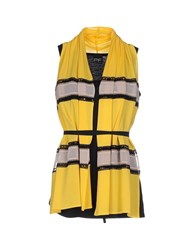 Pf Paola Frani Topwear Tops Women Yellow