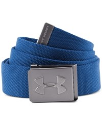 Under Armour Webbed Golf Belt Squadron Blue