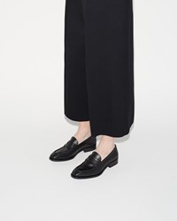 Jil Sander Venus Calf Loafer Black