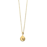 Dinny Hall 22Ct Gold Vermeil Teardrop Pendant Necklace Gold