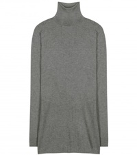 Dolce And Gabbana Cashmere Turtleneck Sweater Grey