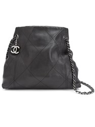 Chanel Vintage Soft Touch Tote Black